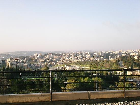 Dan Jerusalem Hotel : The View