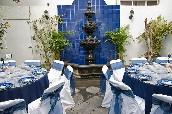 Hotel Casa Gonzalez: banquet setting
