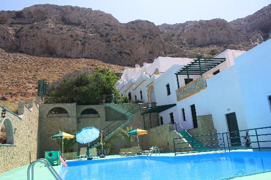 Finiki View : veduta della ns/ camera dalla piscina