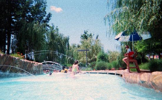 Six Flags Hurricane Harbor: View from the Lazy River