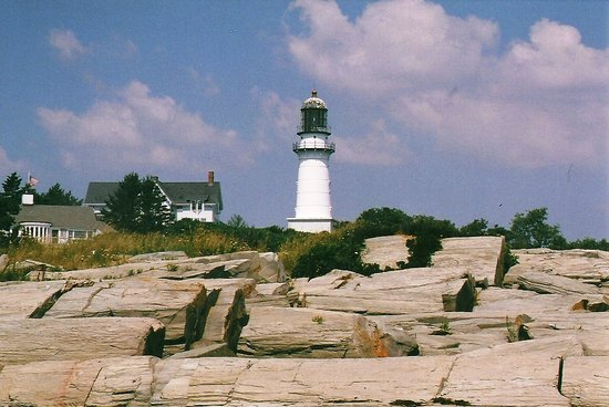 Cape Elizabeth, ME: Twin Lights by the Lobster Shack