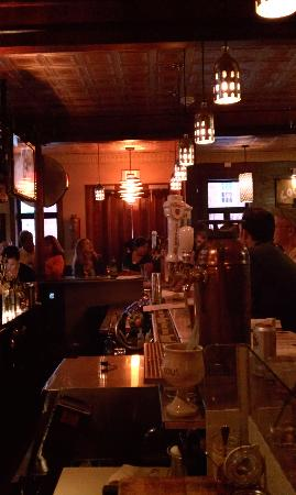 Local 149: View down one side of the bar