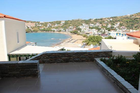 Krinos Suites Hotel : view from Suite with veranda