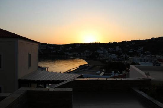 Krinos Suites Hotel: sunset