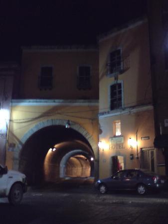 Hotel Real Guanajuato: Fachada