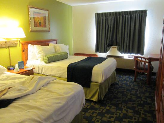 Best Western Antelope Inn: Standard two queen room