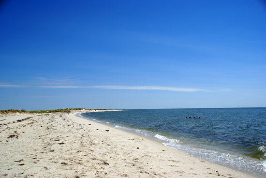 Tangier Island, Wirginia: Stretch of beach