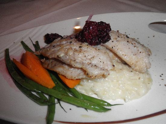 Barracuda Grill: Snapper special with risotto