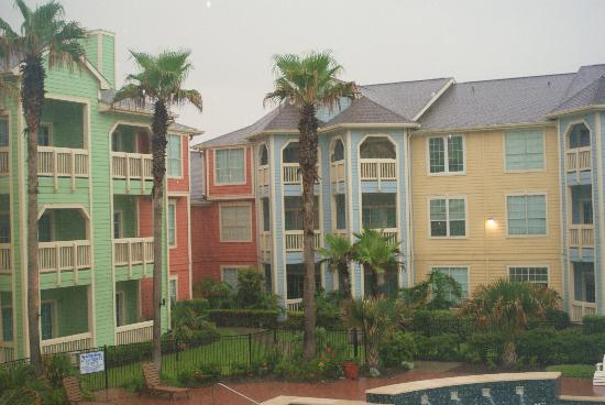 The Dawn Galveston Beach Condominiums: condos