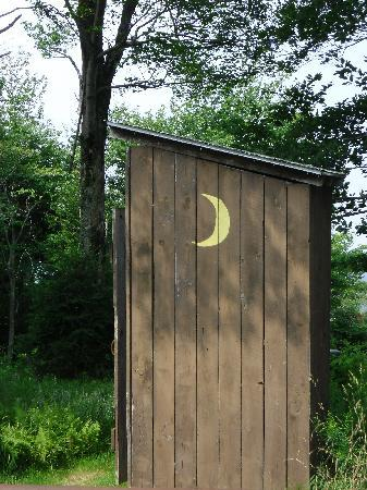 modern restrooms!! - picture of mccauley mountain, old forge