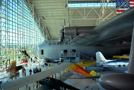 The Spruce Goose Airplane Picture Of Evergreen Aviation Amp Space Museum Mcminnville Tripadvisor