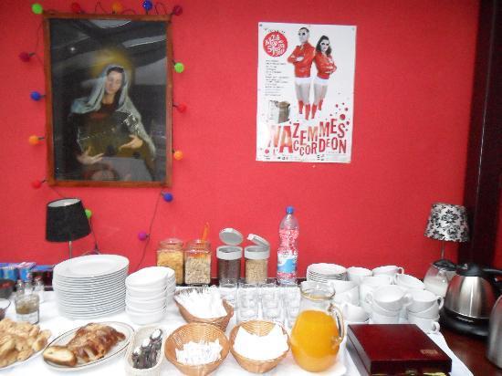 Bed & Breakfast Kolory: Breakfast  Room