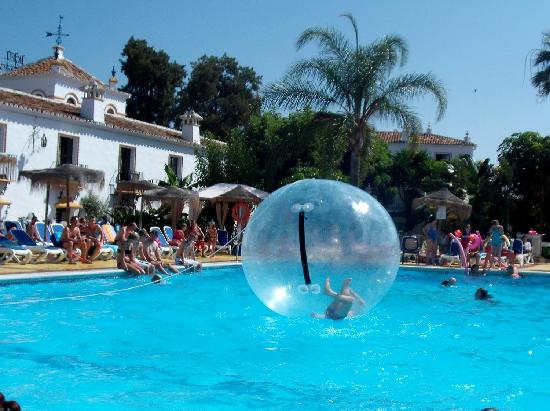 Globales Cortijo Blanco: space ball