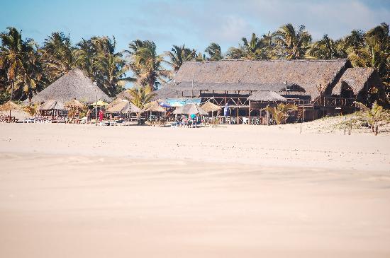 Barra Lodge: The beach bar