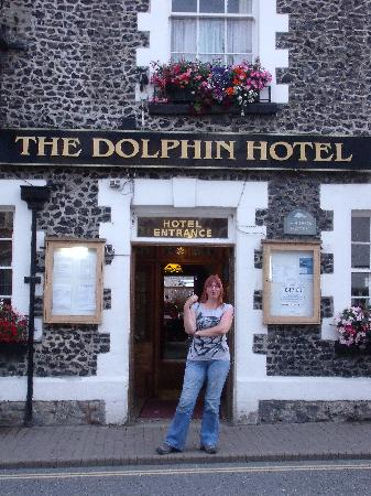The Dolphin Hotel: Front door