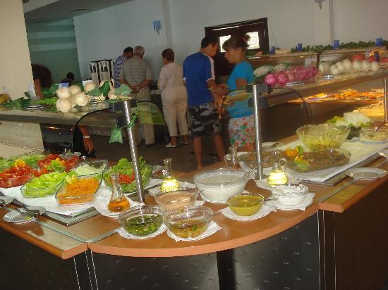 Suneoclub Helios Beach: Le buffet (tout petit)