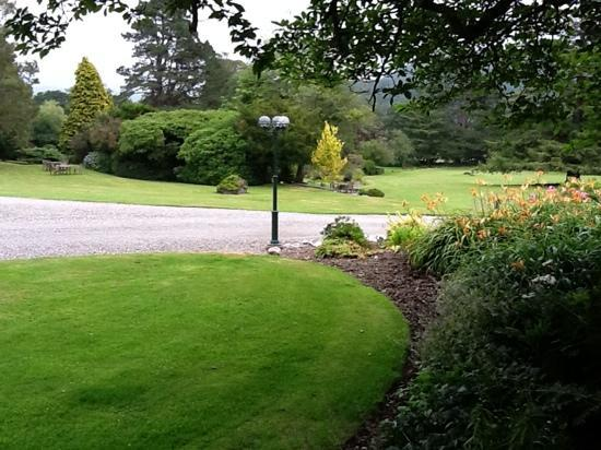 Ynyshir Hall: superb grounds