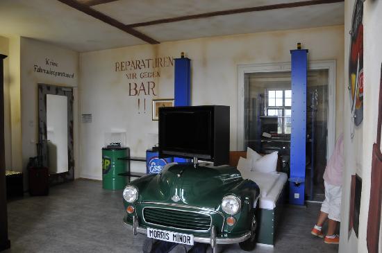 """V8 Hotel Motorworld Region Stuttgart: """"Workshop"""" room"""