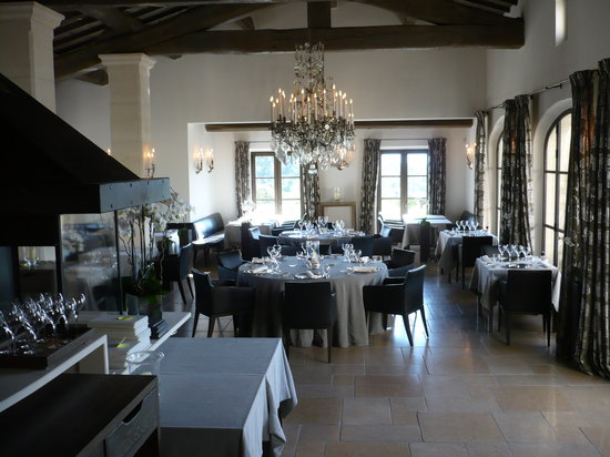 La Coquillade: restaurant