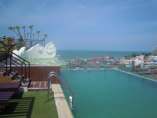 Chalelarn Hotel Hua Hin: la piscine