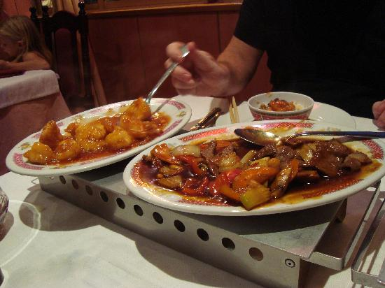 China Garden : gorgeous food