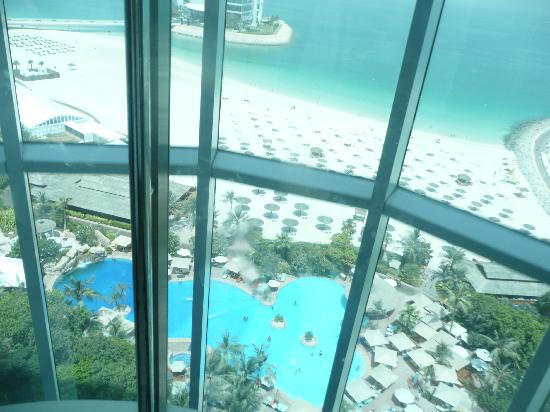 Jumeirah Beach Hotel: Hotel lift