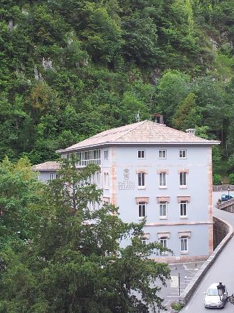 Gran Hotel Pelayo: Fachada del hotel
