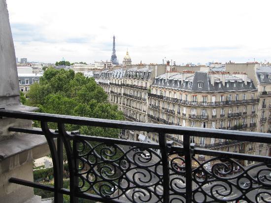 Hotel Lutetia Balcony View