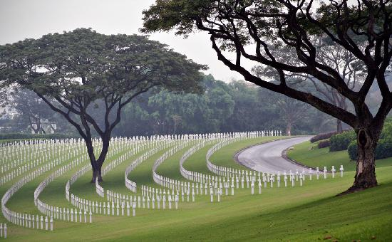 Taguig City, Philippines: American Cemetery in Manila