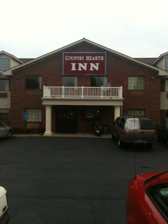 Urbana Inn & Suites : entrance