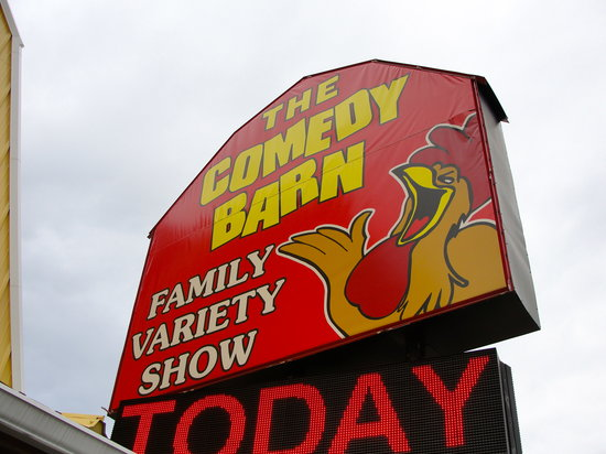 Comedy Barn Pigeon Forge Tn Address Phone Number