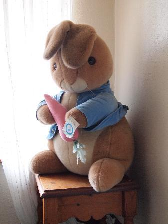 Denehurst Guest House: Peter Rabbit on the landing!