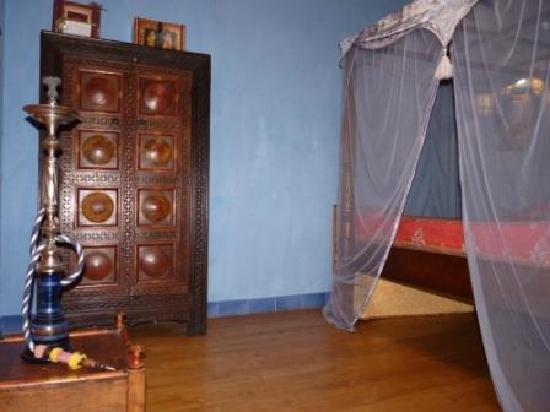Hotel de Digoine : La chambre, en mezzanine