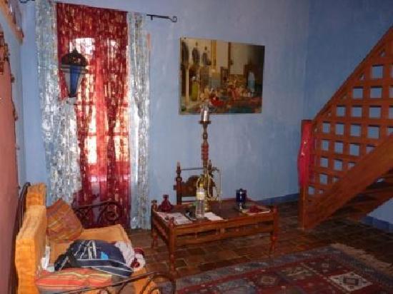 Hotel de Digoine : Le salon de la chambre