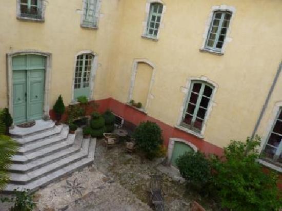 Hotel de Digoine: La cour intérieure