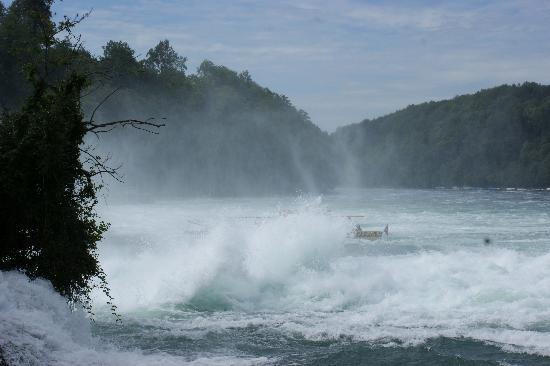 Rhine Falls : views from the Neuhausen side