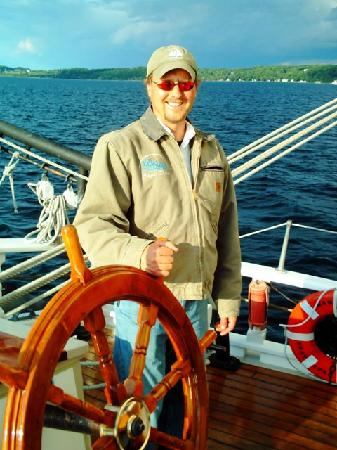 Tall Ship Manitou - Day Tours: Captain Dave McGinnis - Tall Ship Manitou