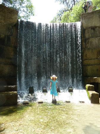 Колимбия, Греция: Wasserfall