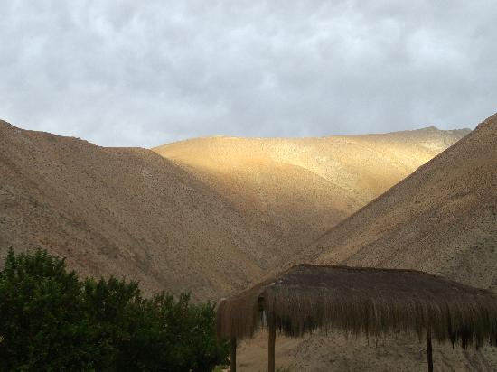 Pisco Elqui, Cile: Sunset from the Cabana