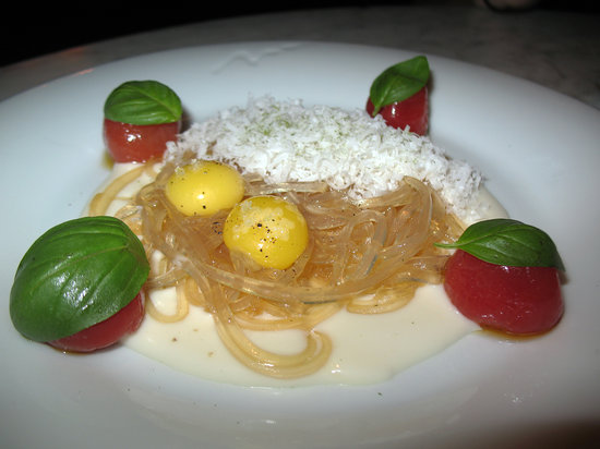 The Bazaar by Jose Andres: Dashi Linguini