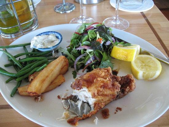 Aqua Restaurant: Fish and Chip meal