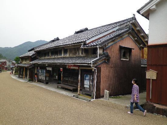 Wakasa-cho, Japan: 街並みの一角