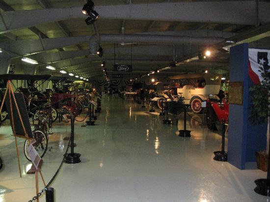 The Seal Cove Auto Museum: a portion of some of the cars on display
