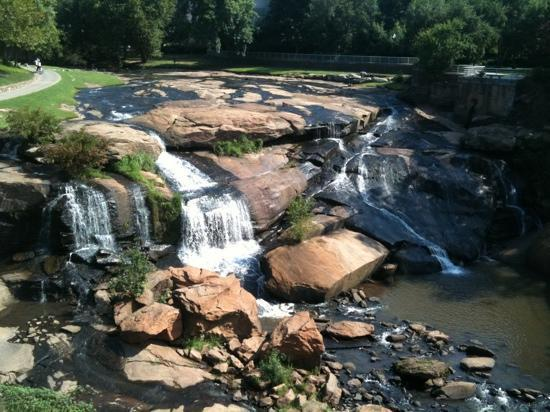 Greenville, SC: waterfalls