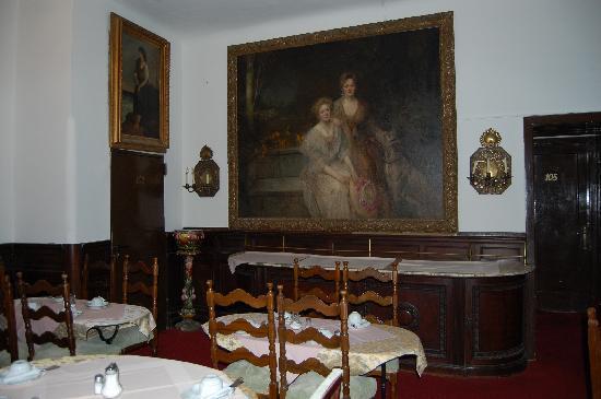 Hotel Pension Franz: Breakfast saloon