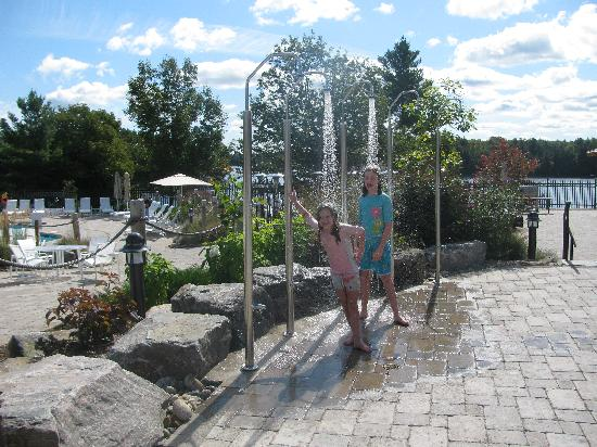 At The Paignton House Pool Picture Of Jw Marriott The Rosseau Muskoka Resort Spa Minett