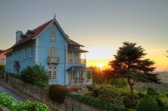 Bed and Breakfast Villa Mira Longa : The Villa Mira Longa - Sunset .