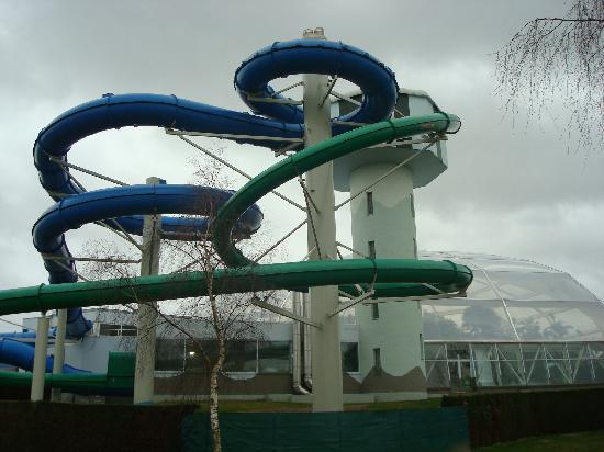 Oostduinkerke, Belgique : The Flumes