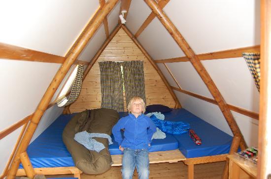 Mortonhall Caravan and Camping Park: Wigwam innen