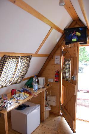 Mortonhall Caravan and Camping Park: Wigwam vorne